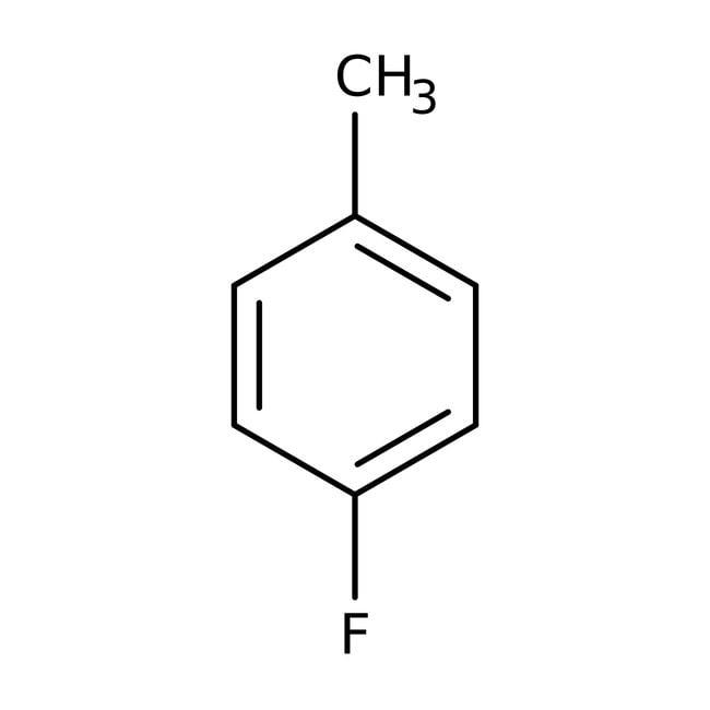 p-Fluorotoluene, 97%, Acros Organics 100g; Glass bottle p-Fluorotoluene, 97%, Acros Organics
