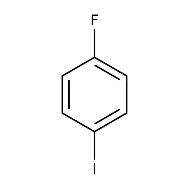 1-Fluoro-4-iodobenzene, 99%, ACROS Organics™ 1mL; Glass bottle 1-Fluoro-4-iodobenzene, 99%, ACROS Organics™