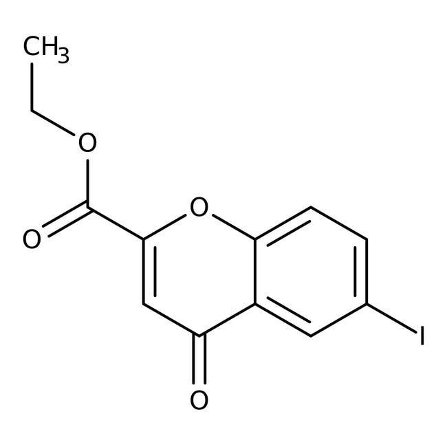 ethyle6-iodo-4-oxo-4H-chromene-2-carboxylate, 97%, Maybridge™