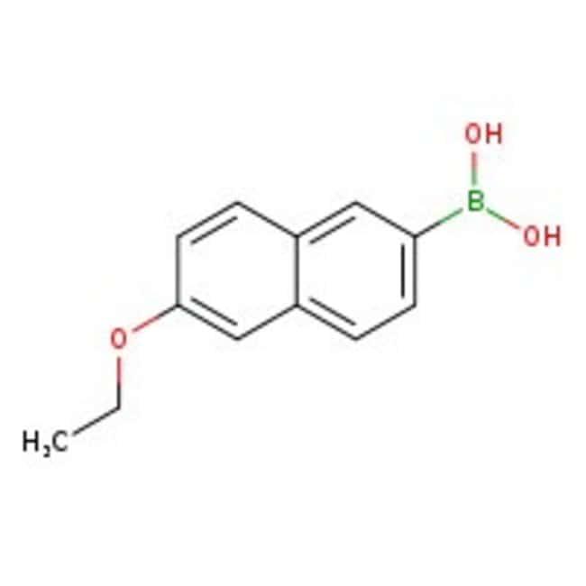 6-Ethoxy-2-naphthaleneboronic acid, 97%, ACROS Organics™