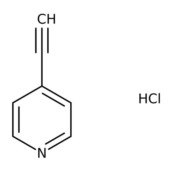 Alfa Aesar™ 4-Ethynylpyridine hydrochloride, 97%: Chemicals Products
