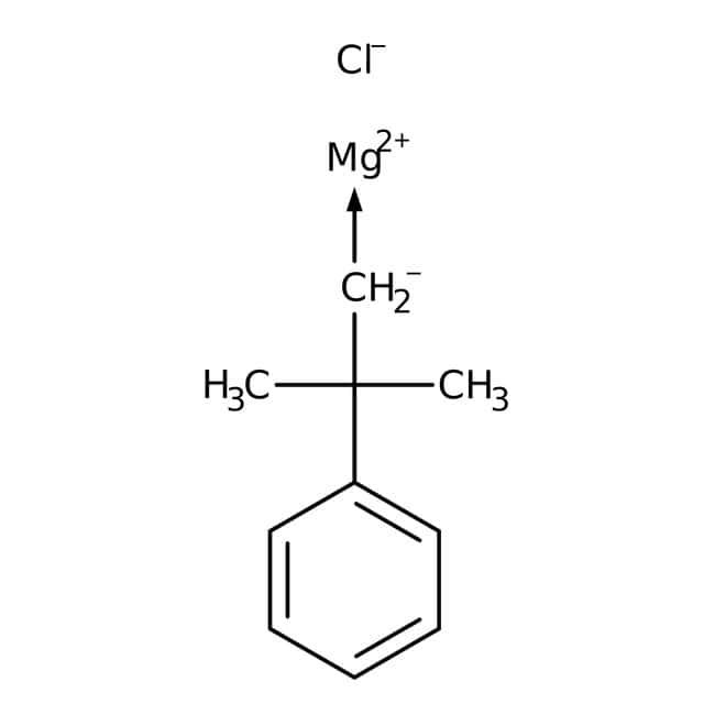 2-Methyl-2-phenylpropylmagnesium chloride, 0.5M solution in diethyl ether, AcroSeal™, ACROS Organics™