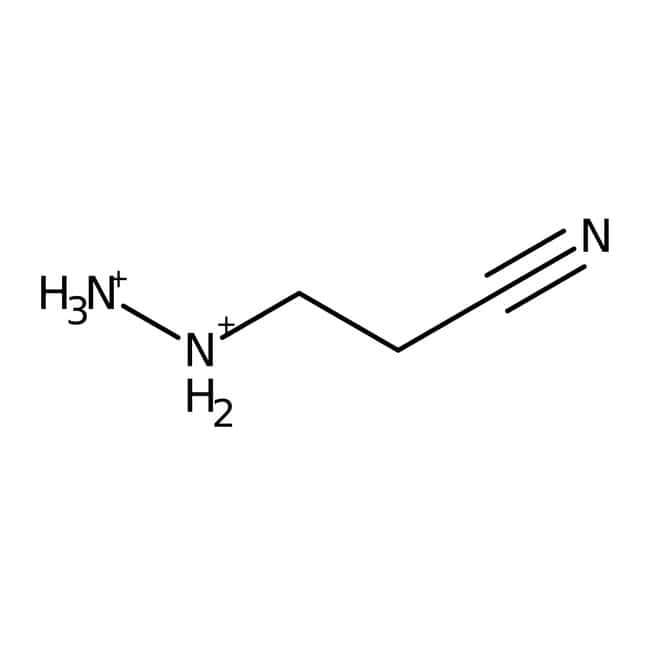 2-Cyanoethylhydrazine, 98%, ACROS Organics™: Hydrazines and derivatives Organonitrogen compounds