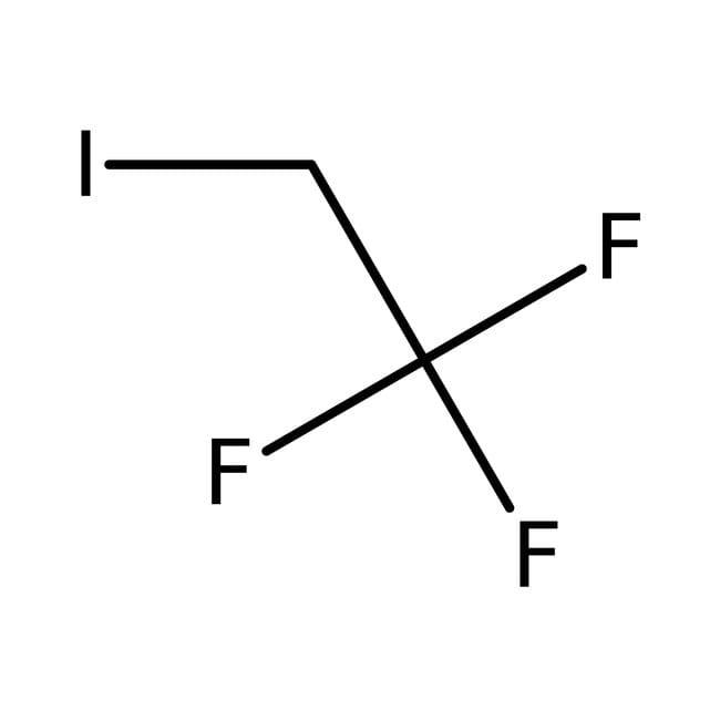 2-Iodo-1,1,1-trifluoroethane, 99%, ACROS Organics™ 50mL; Glass bottle 2-Iodo-1,1,1-trifluoroethane, 99%, ACROS Organics™