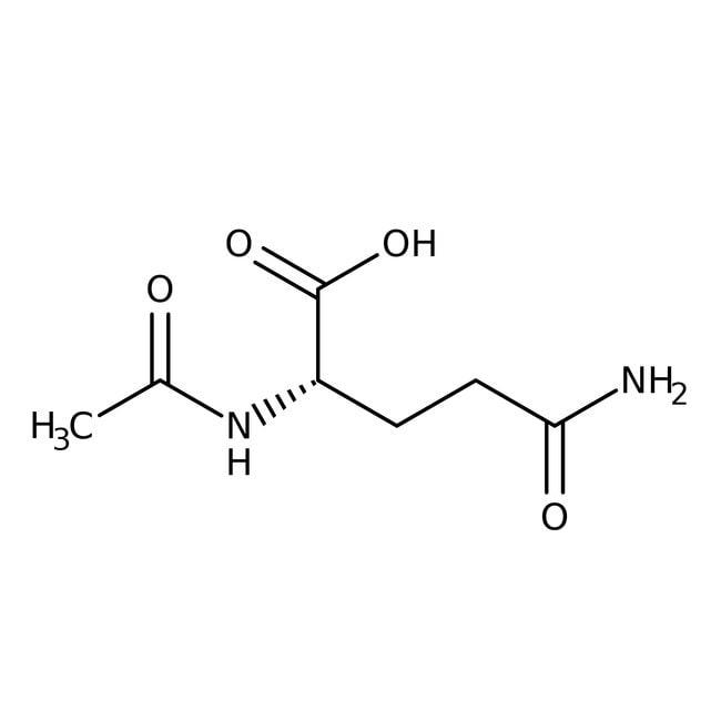 N-Acetyl-L-glutamine, 97%, Acros Organics 100g, Glass bottle N-Acetyl-L-glutamine, 97%, Acros Organics
