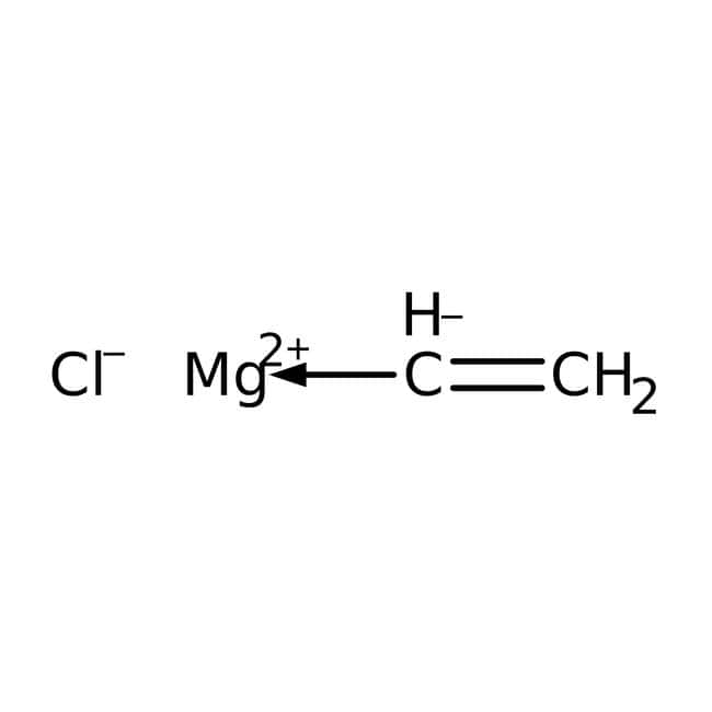 Vinylmagnesium chloride, 1.7M (15 wt.%) solution in THF, AcroSeal®, ACROS Organics™ 800mL; AcroSeal glass bottle Vinylmagnesium chloride, 1.7M (15 wt.%) solution in THF, AcroSeal®, ACROS Organics™