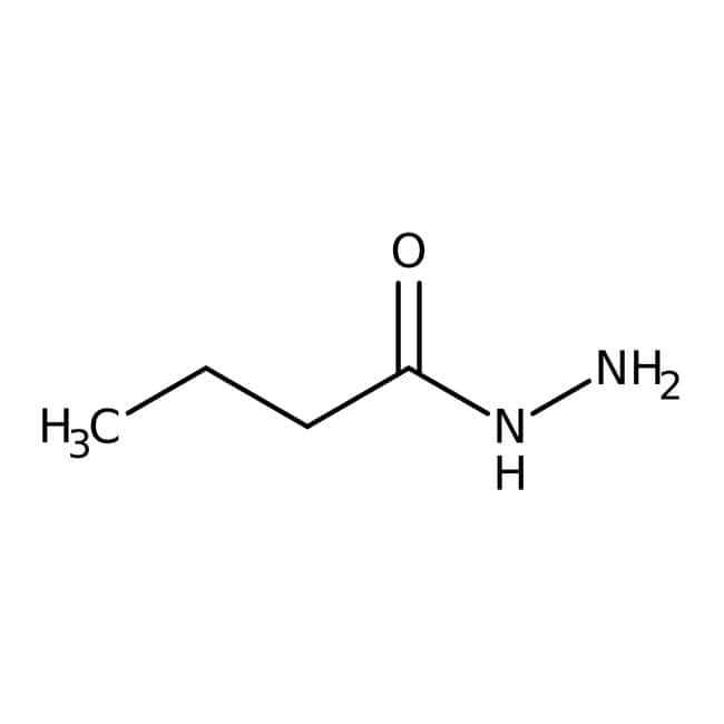 Butyric acid hydrazide, 95%, ACROS Organics™ 25g Butyric acid hydrazide, 95%, ACROS Organics™