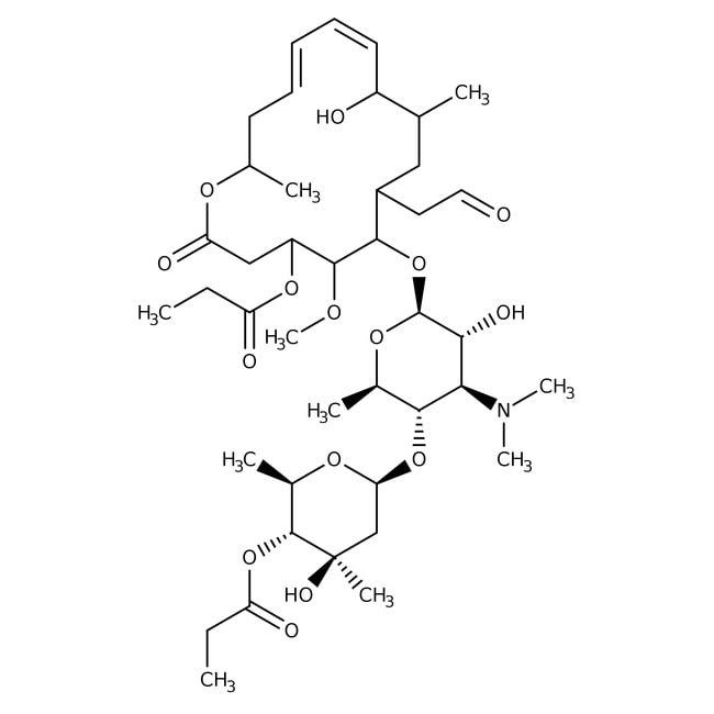 Alfa Aesar™Midecamycin, 900μg/mg