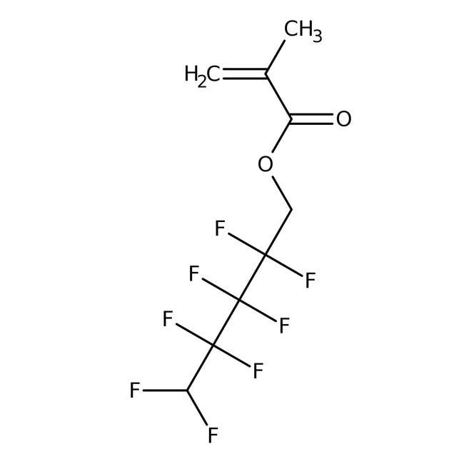 1H,1H,5H-Octafluoropentyl Methacrylate (stabilized with TBC) 98.0+%, TCI America™