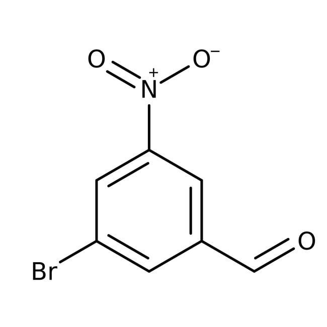 Alfa Aesar™3-Bromo-5-nitrobenzaldehyde, ≥97% 5g Alfa Aesar™3-Bromo-5-nitrobenzaldehyde, ≥97%