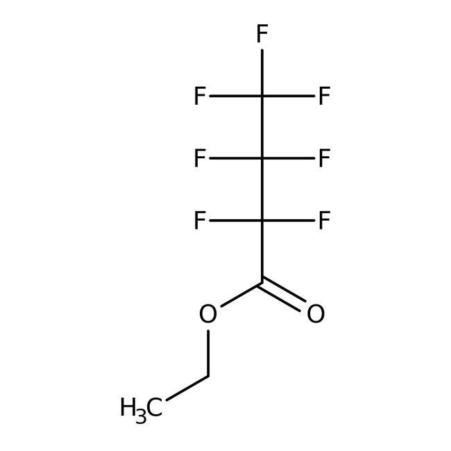 Ethyl heptafluorobutyrate, 97%, ACROS Organics