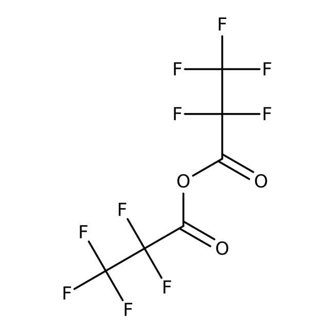 Pentafluoropropionic anhydride, 98%, ACROS Organics™ 100g; Glass bottle Pentafluoropropionic anhydride, 98%, ACROS Organics™
