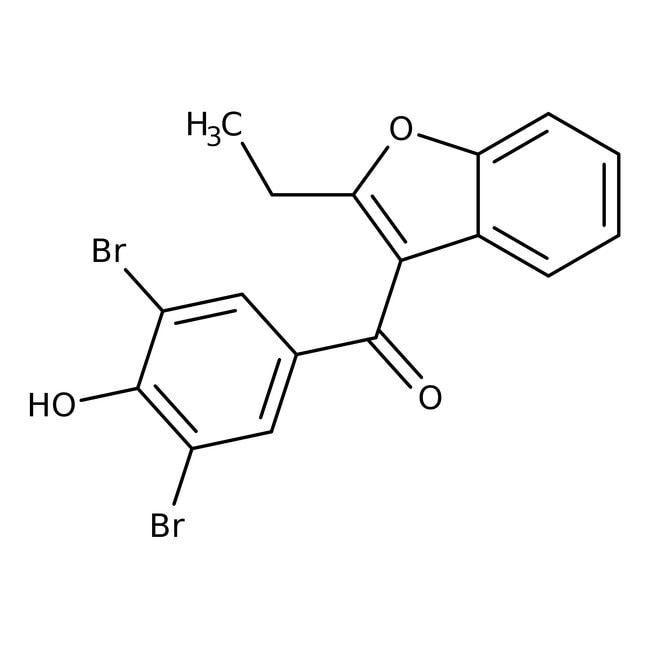 Benzbromarone, 98%, Acros Organics™ 5g Benzbromarone, 98%, Acros Organics™