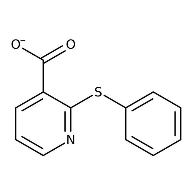 2-(Phenylthio)nicotinic acid, 97%, Maybridge