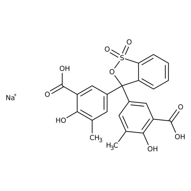 Eriochrome Cyanine R, Spectrum