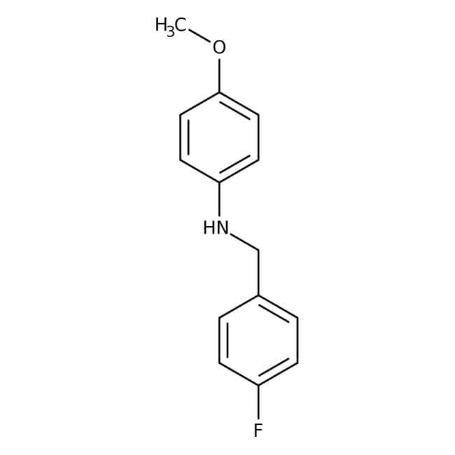 Alfa Aesar™N-(4-Fluorobenzyl)-4-methoxyaniline, 97% 250mg Alfa Aesar™N-(4-Fluorobenzyl)-4-methoxyaniline, 97%