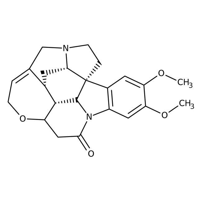 Brucin, 99%, wasserfrei, ACROS Organics™ 50 g-Glasflasche Brucin, 99%, wasserfrei, ACROS Organics™