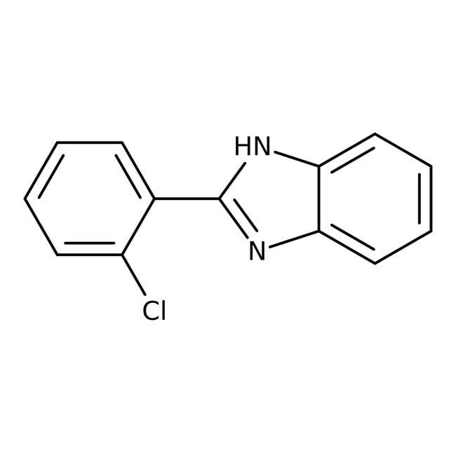 2-(2-chlorophenyl)benzimidazole, 97%, ACROS Organics™ 5g 2-(2-chlorophenyl)benzimidazole, 97%, ACROS Organics™