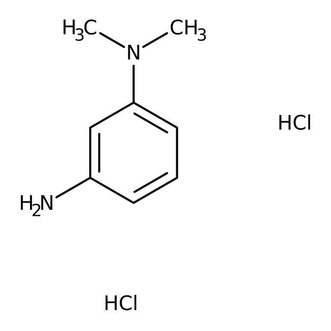 N,N-Dimethyl-m-phenylenediamine dihydrochloride, 99%, ACROS Organics™ 5g; Glass bottle N,N-Dimethyl-m-phenylenediamine dihydrochloride, 99%, ACROS Organics™
