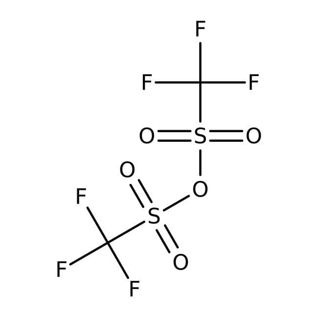 Trifluoromethanesulfonic anhydride, 98+%, ACROS Organics™