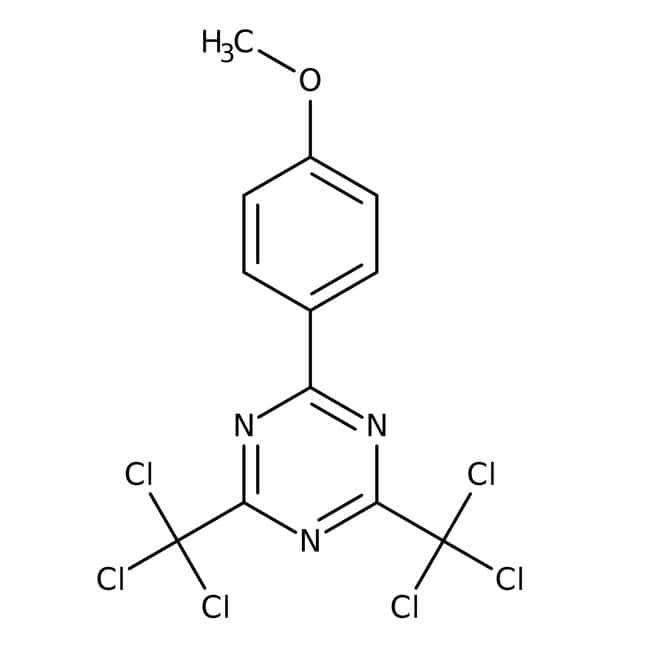 2-(4-Methoxyphenyl)-4,6-bis(trichloromethyl)-1,3,5-triazine 98.0+%, TCI America™