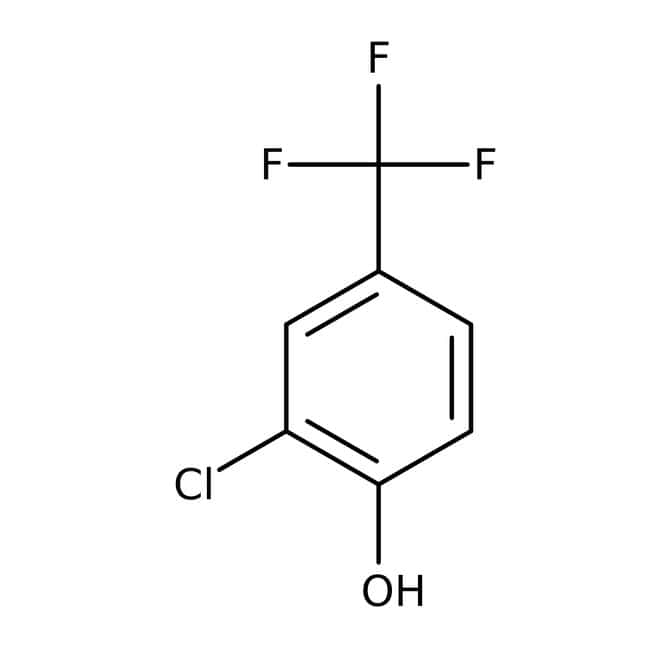Alfa Aesar™2-Chloro-4-(trifluoromethyl)phenol, 98% 25g Alfa Aesar™2-Chloro-4-(trifluoromethyl)phenol, 98%