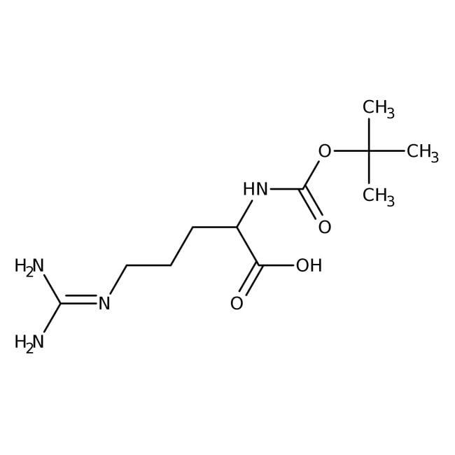 Alfa Aesar™Nalpha-Boc-L-arginine hydrochloride, 98% 25g Alfa Aesar™Nalpha-Boc-L-arginine hydrochloride, 98%