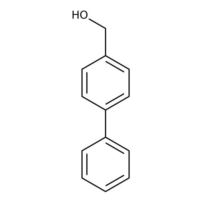 Alfa Aesar™4-Bifenilmetanol, +98% 250g Alfa Aesar™4-Bifenilmetanol, +98%