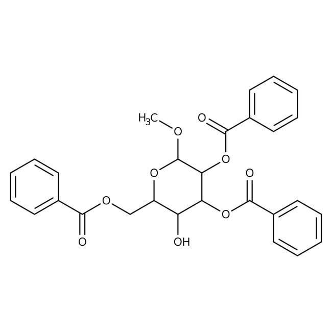 Methyl 2,3,6-Tri-O-benzoyl-alpha-D-galactopyranoside 98.0+%, TCI America™