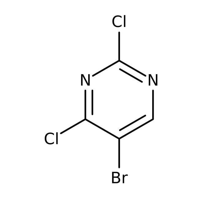 5-Bromo-2,4-dichloropyrimidine, 98%, ACROS Organics