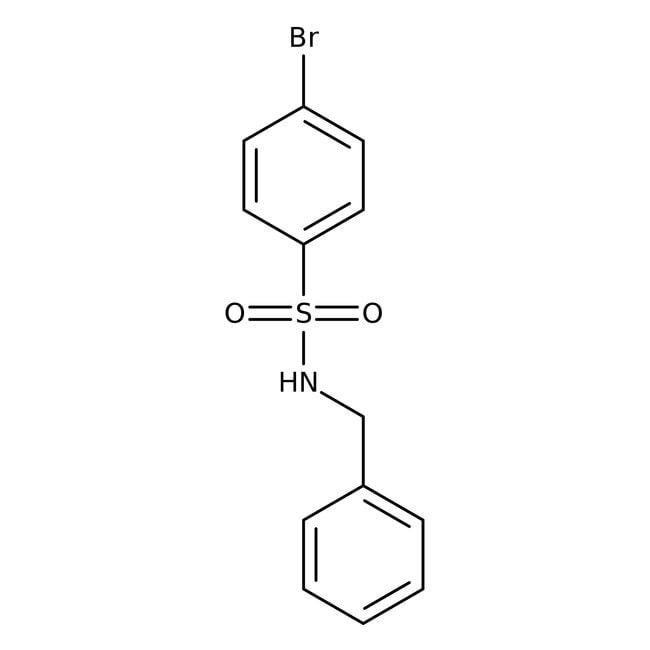 Alfa Aesar™N-benzyl-4-bromobenzènesulfonamide, 97% 1g Alfa Aesar™N-benzyl-4-bromobenzènesulfonamide, 97%