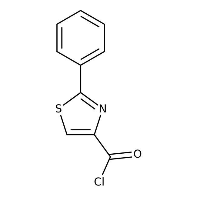 2-Phenyl-1,3-thiazole-4-carbonyl chloride, Maybridge 250mg 2-Phenyl-1,3-thiazole-4-carbonyl chloride, Maybridge