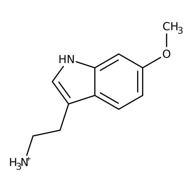6-Methoxytryptamine, 99%, ACROS Organics™ 5g; Glass bottle 6-Methoxytryptamine, 99%, ACROS Organics™