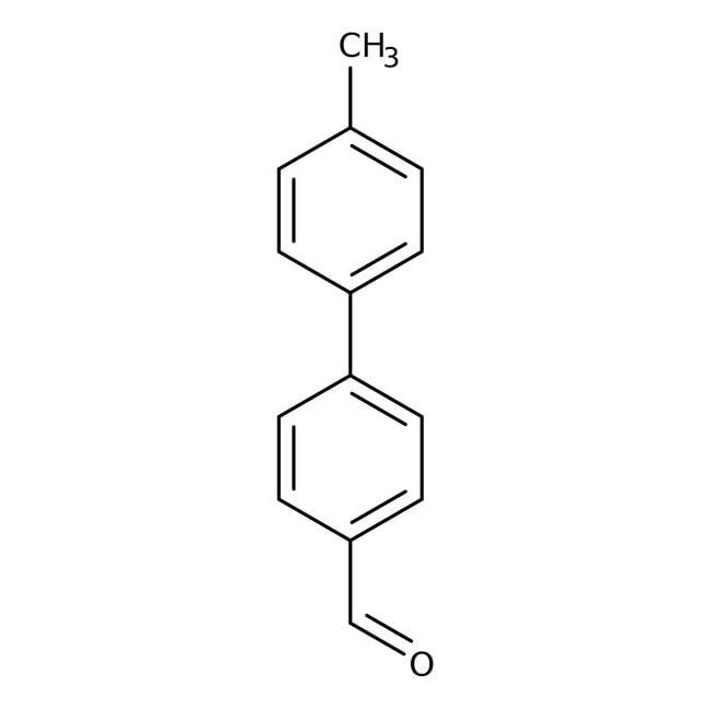 Alfa Aesar™4'-Methylbiphenyl-4-carboxaldehyde, 96% 250mg Alfa Aesar™4'-Methylbiphenyl-4-carboxaldehyde, 96%