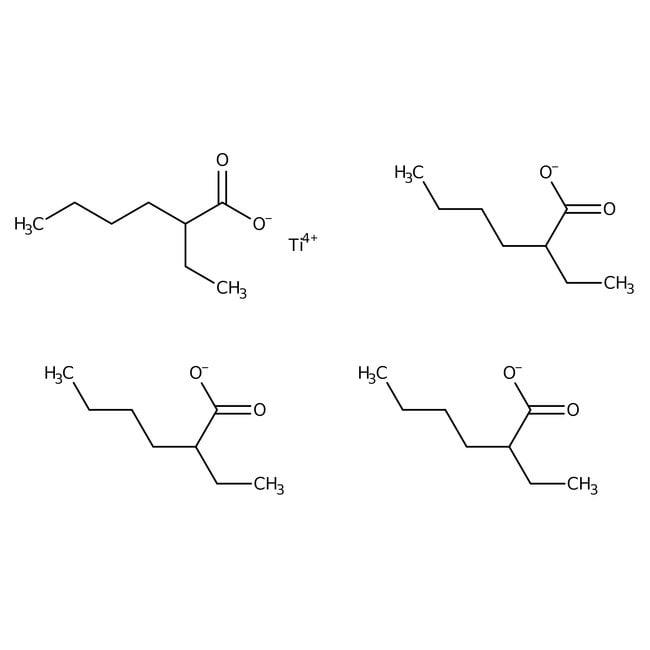 Alfa Aesar™Titanium(IV) 2-ethylhexanoate, 97%