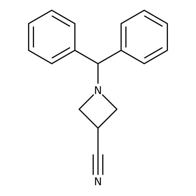 Alfa Aesar™1-Benzhydrylazetidine-3-carbonitrile, 97% 5g Alfa Aesar™1-Benzhydrylazetidine-3-carbonitrile, 97%