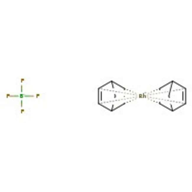 Bis(norbornadiene)rhodium(I) tetrafluoroborate, 94%, ACROS Organics