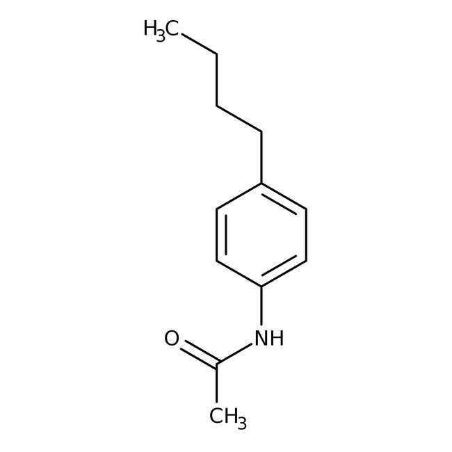 N1-(4-Butylphenyl)acetamide, 97%, Maybridge™ Amber Glass Bottle; 10g N1-(4-Butylphenyl)acetamide, 97%, Maybridge™