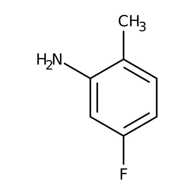 Alfa Aesar™5-Fluoro-2-methylaniline, 98% 50g Alfa Aesar™5-Fluoro-2-methylaniline, 98%