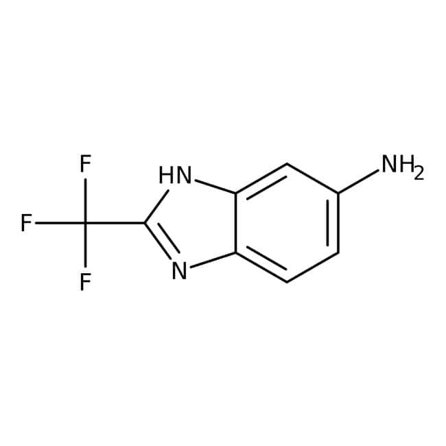 5-Amino-2-(trifluoromethyl)benzimidazole, 96%, ACROS Organics™ 5g, Glass bottle 5-Amino-2-(trifluoromethyl)benzimidazole, 96%, ACROS Organics™