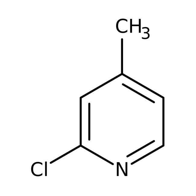 2-Chloro-4-picoline, 98%, ACROS Organics