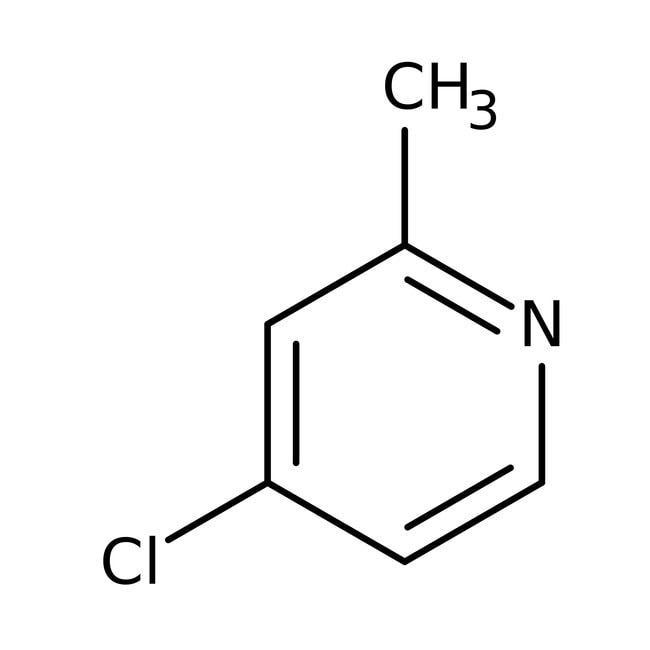 Alfa Aesar™4-Chloro-2-methylpyridine, 95% 1g Alfa Aesar™4-Chloro-2-methylpyridine, 95%