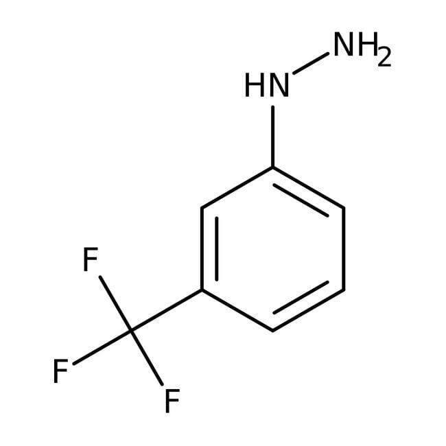 3-(Trifluoromethyl)phenylhydrazine, 90%, Tech., ACROS Organics