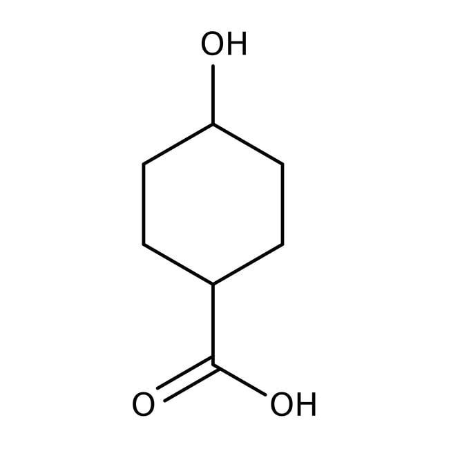 trans-4-Hydroxycyclohexanecarboxylic Acid 97.0+%, TCI America™
