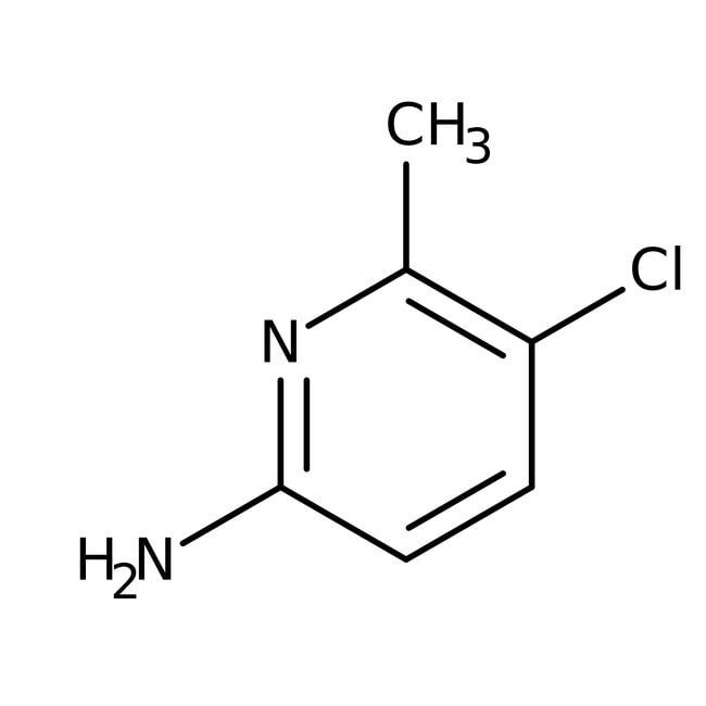 Alfa Aesar™2-Amino-5-chloro-6-méthylpyridine, 97% 5g Alfa Aesar™2-Amino-5-chloro-6-méthylpyridine, 97%