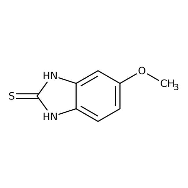 5-Methoxy-2-mercaptobenzimidazole, 99+%, ACROS Organics™