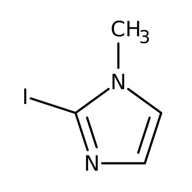 Alfa Aesar™2-Iodo-1-methylimidazole, 97% 1g Alfa Aesar™2-Iodo-1-methylimidazole, 97%