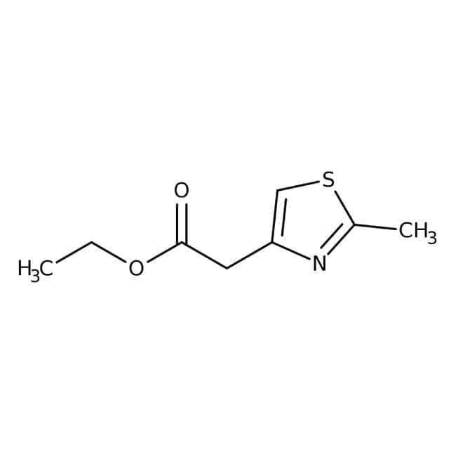 ethyle2-(2-methyl-1,3-thiazol-4-yl)acetate, 95%, Maybridge™