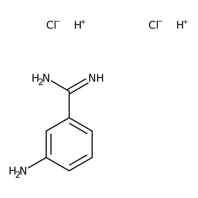 3-Aminobenzamidine dihydrochloride hydrate, 98%, ACROS Organics™