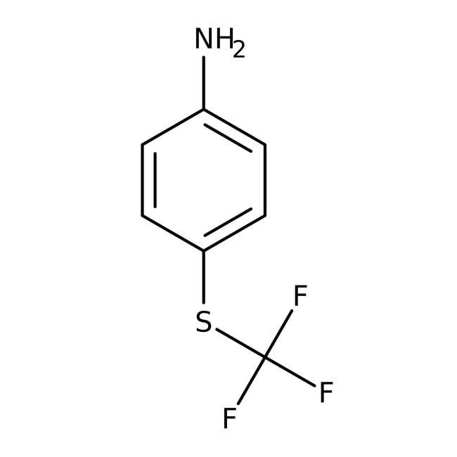 4-(Trifluoromethylthio)aniline, 95%, ACROS Organics